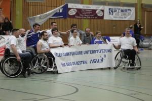 Glückliche Aufsteiger: das Team des ASV Bonn.